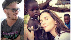 Fede Bal sobre la tapa de revista de Natalia Oreiro