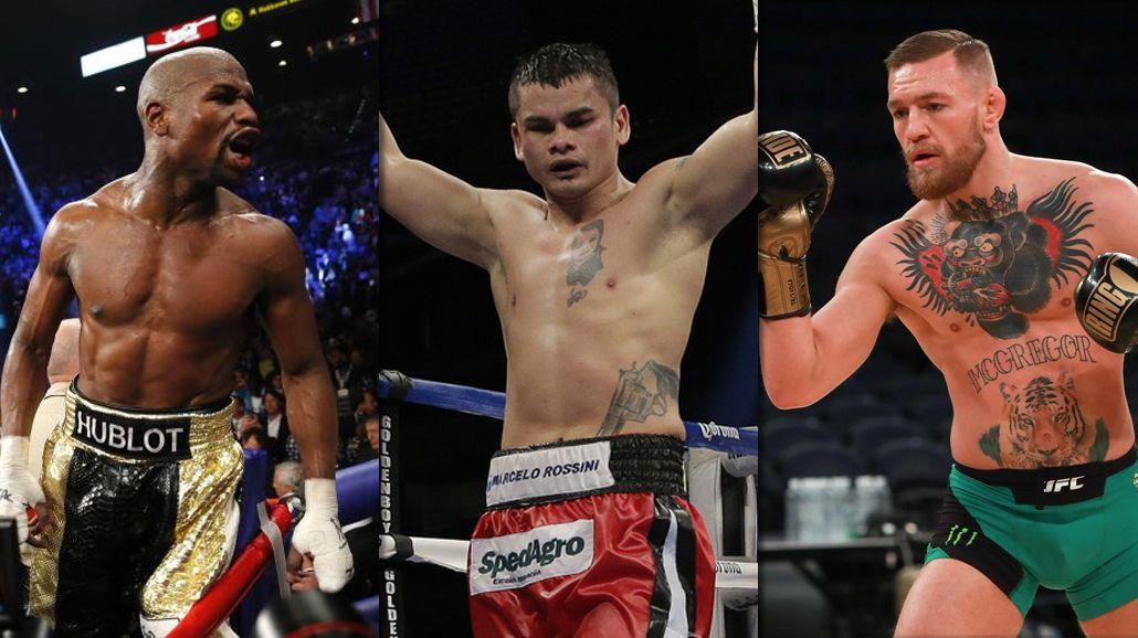 Mayweather ofrece a McGregor pelear con guantes de 8 onzas