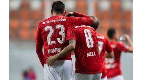 Indpendiente derrotó a Iquique y paso a octavos - Crédito:@CONMEBOL