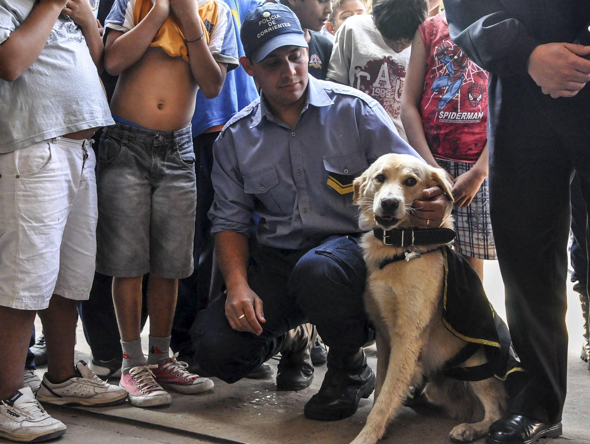 Un perro hizo que echaran a un jefe de policía en Corrientes
