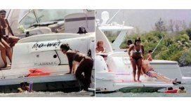 Gianinna Maradona, en Miami en bikini