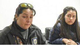 Las hermanas Jaquelin Fernández y Celeste Campillay