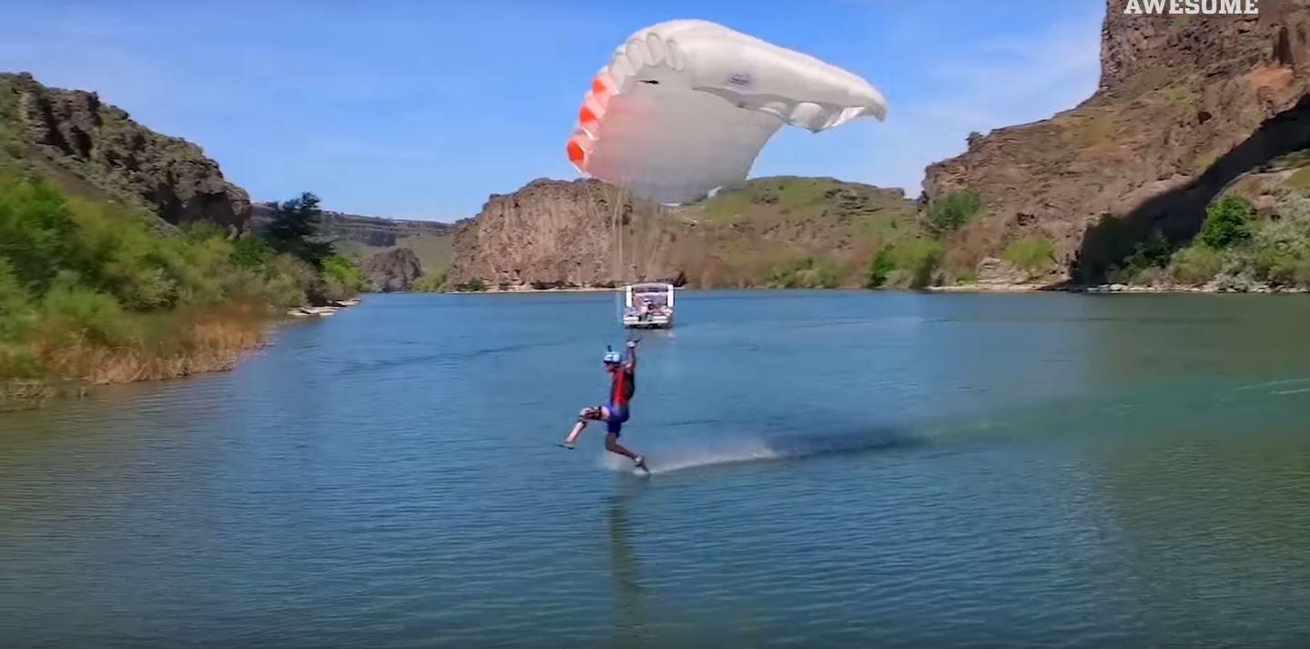 Un video de personas haciendo cosas increíbles se volvió viral