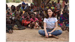 Natalia Oreiro, en África