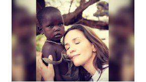 UNICEF explicó la labor de Natalia Oreiro en África