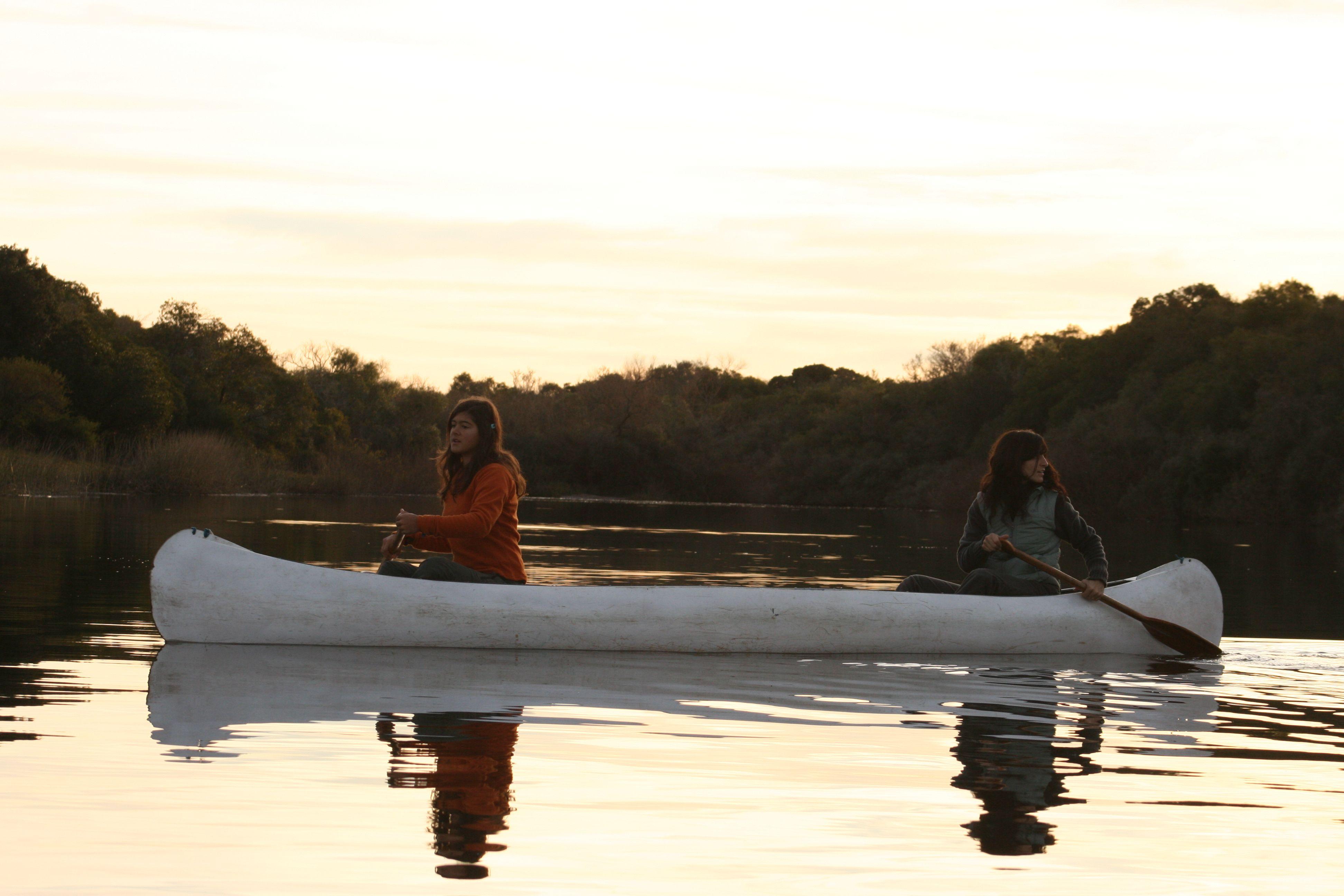 Un paseo en canoa por El Palmar<br>