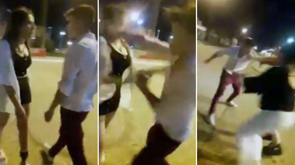 Chaco: golpeó a una joven y quedó todo registrado en un video