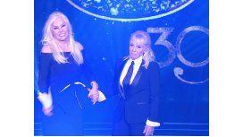 Susana Giménez y Claudia Villafañe, denunciadas por desacato al bozal a Maradona