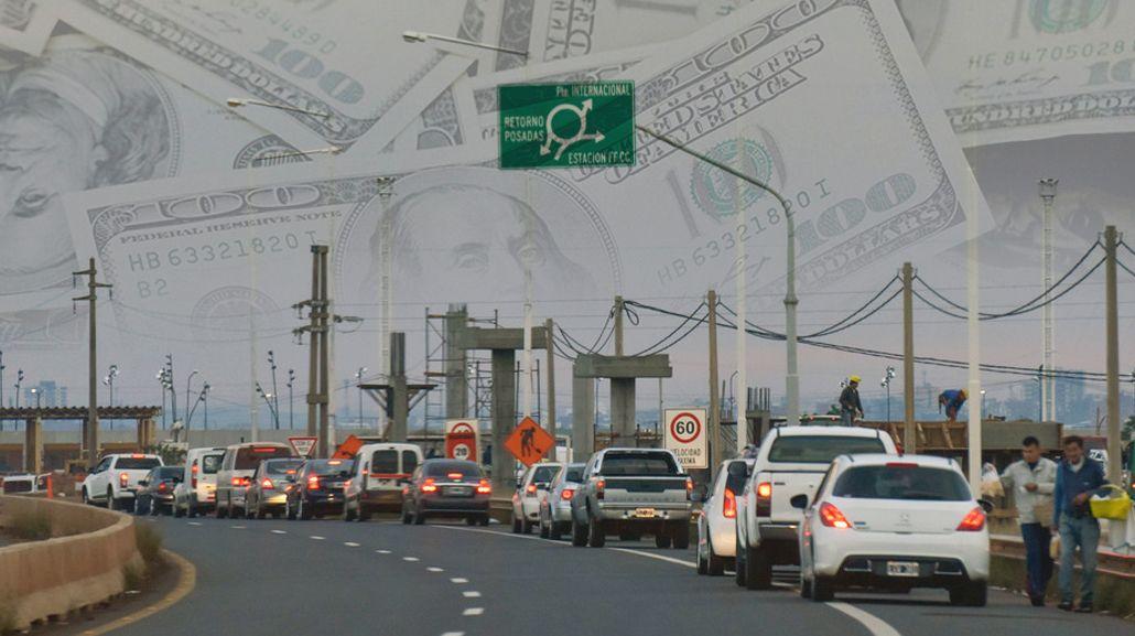 Cada vez más argentinos viajan a comprar a Paraguay