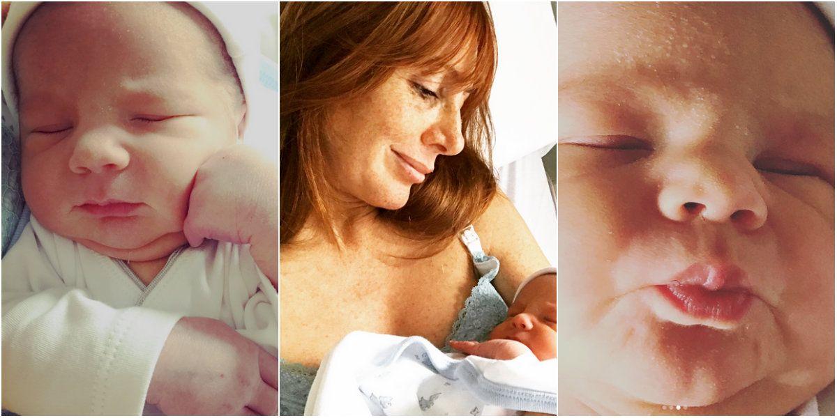 Maby Wells fue madre por segunda vez a los 47 años