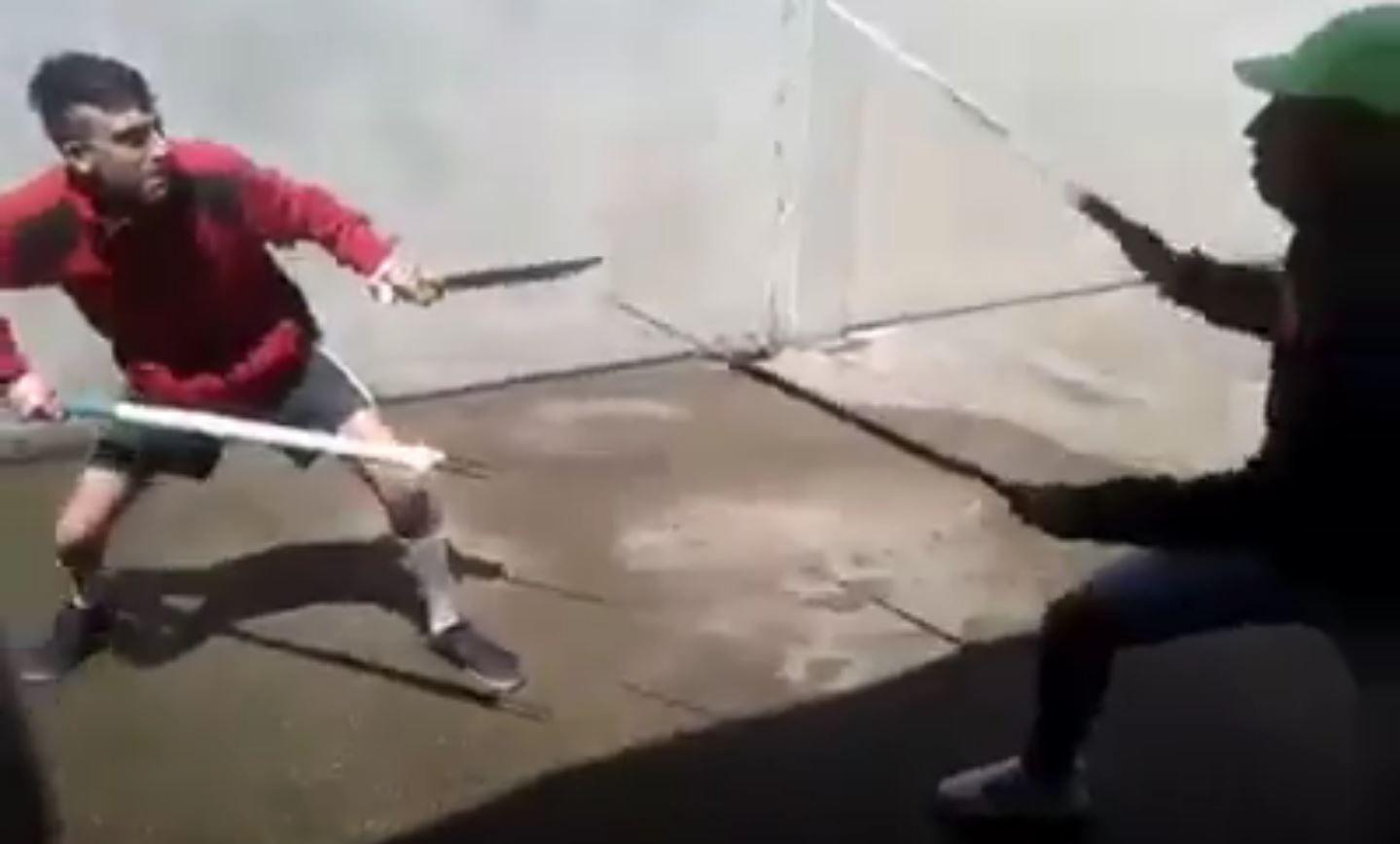 Presos luchan con cuchillos y lanzas en una cárcel uruguaya
