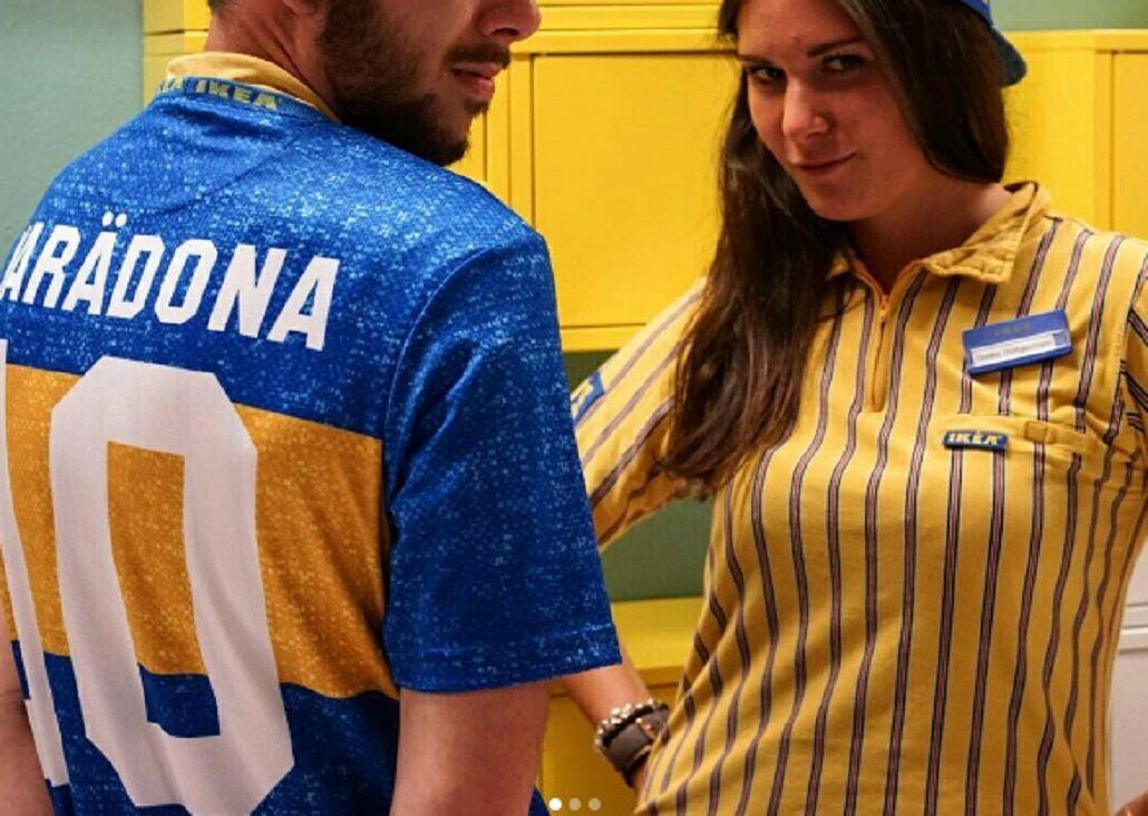 Una prestigiosa marca internacional homenajeó a Boca con una camiseta especial