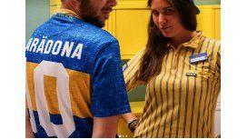 Una prestigiosa marca homenajeó a Boca con una camiseta especial