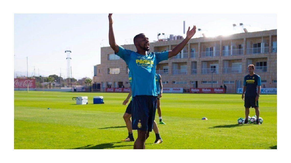 Cédric Bakambu se enteró que iba a jugar en La Bombonera y explotó