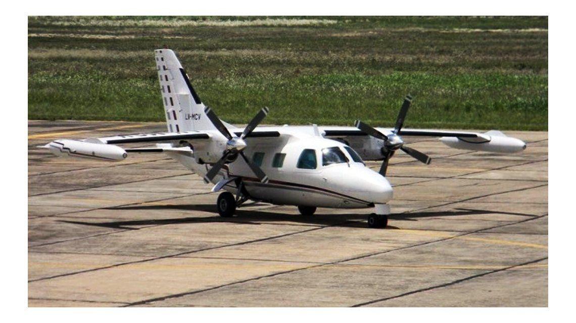 Una foto de la avioneta antes de 2014