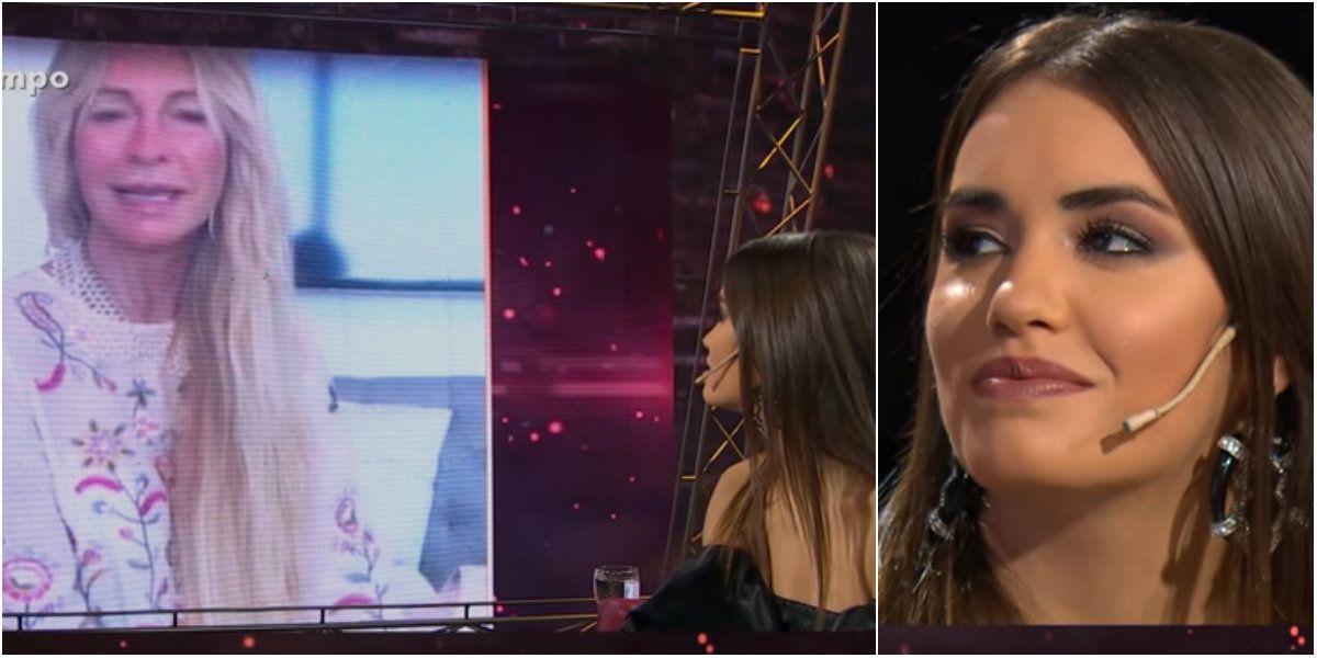 Lali se emocionó por un mensaje de Cris Morena.