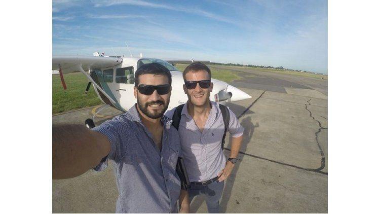 Matías Ronzano y Emanuel Vega