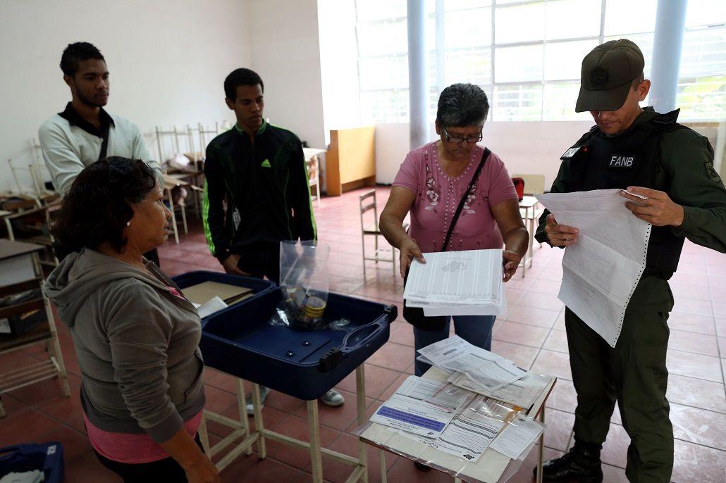 Venezuela elige a los miembros de la asamblea constituyente