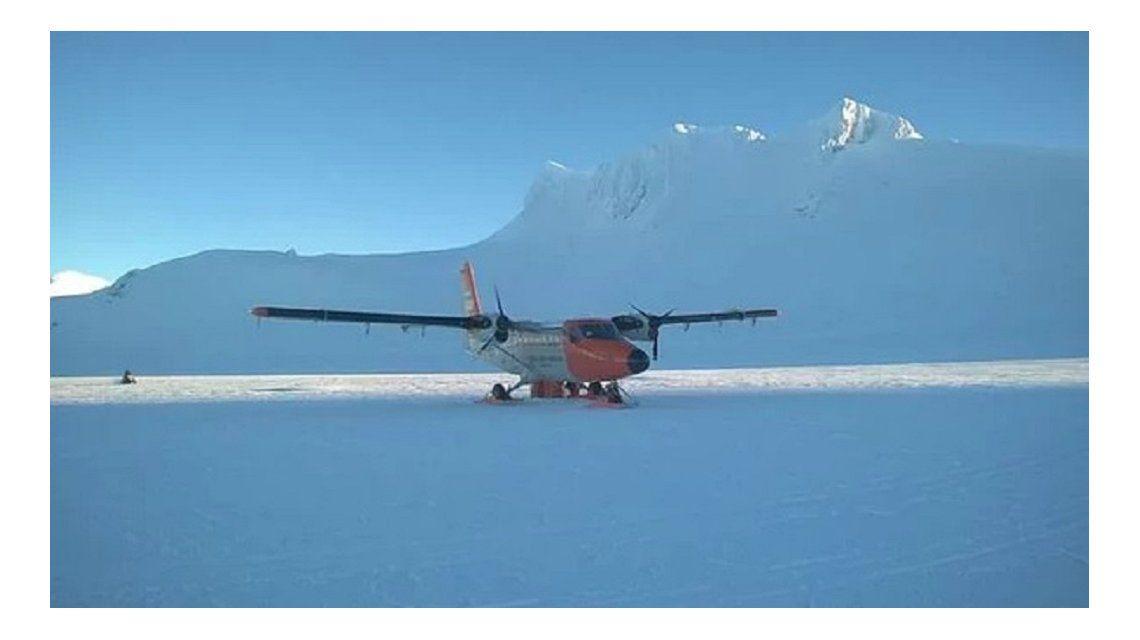 Trasladaron de urgencia a un suboficial con fracturas desde la Antártida - Crédito: Prensa Armada Argentina