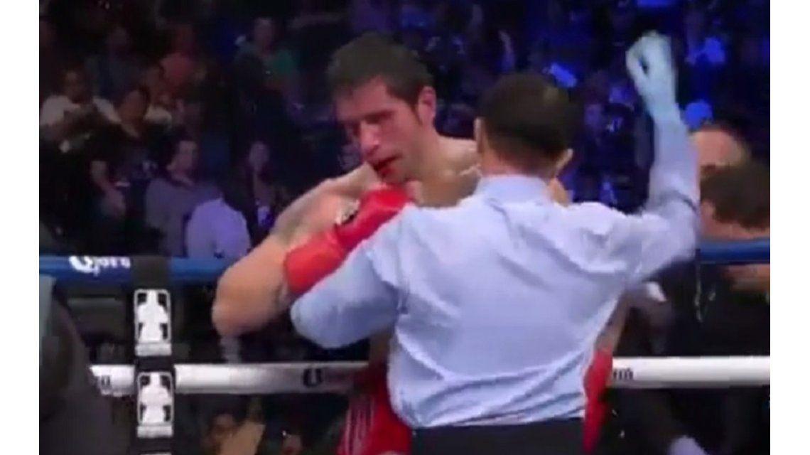 El Gauchito Heiland perdió por nocaut y no enfrentará a Golovkin