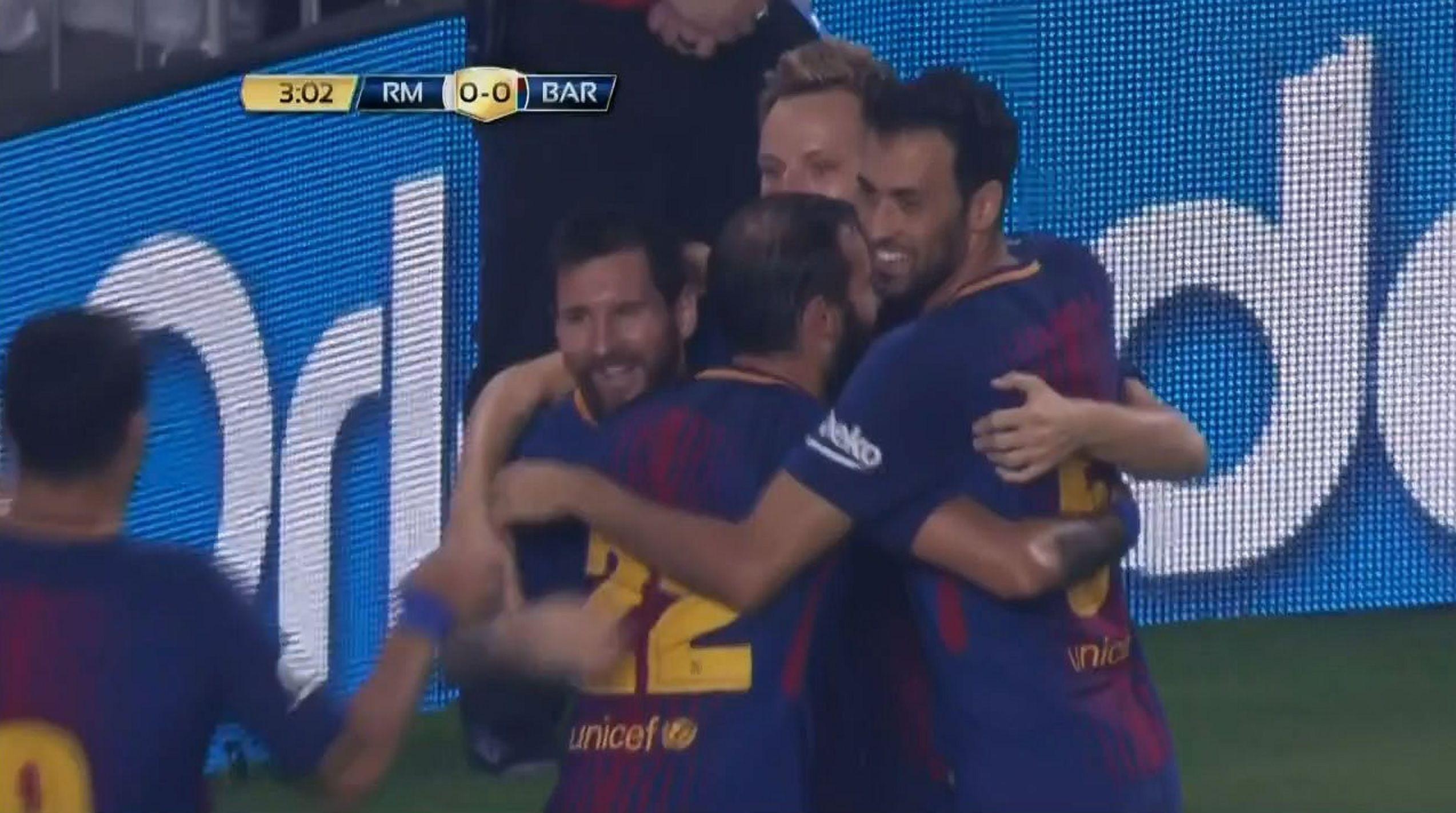 El gol de Messi ante Real Madrid en Miami