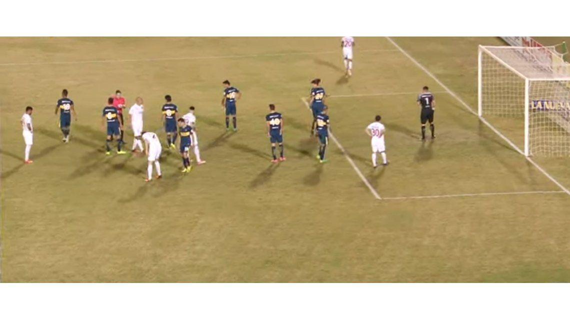 Boca enfrenta a Nacional de Montevideo en Paraguay