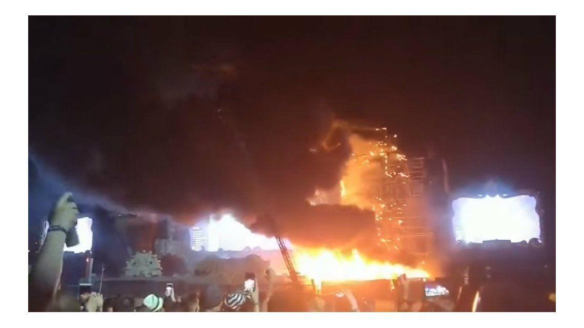 Tuvieron que evacuar a 22 mil personas del festival Tomorrowland