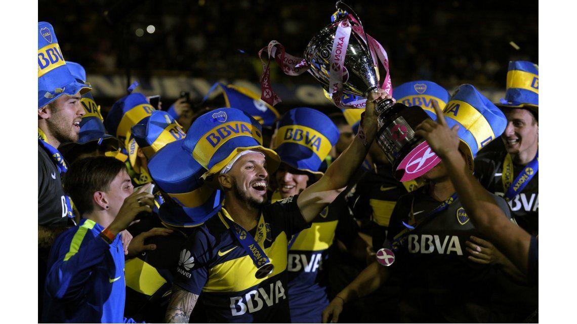 El campeón Boca