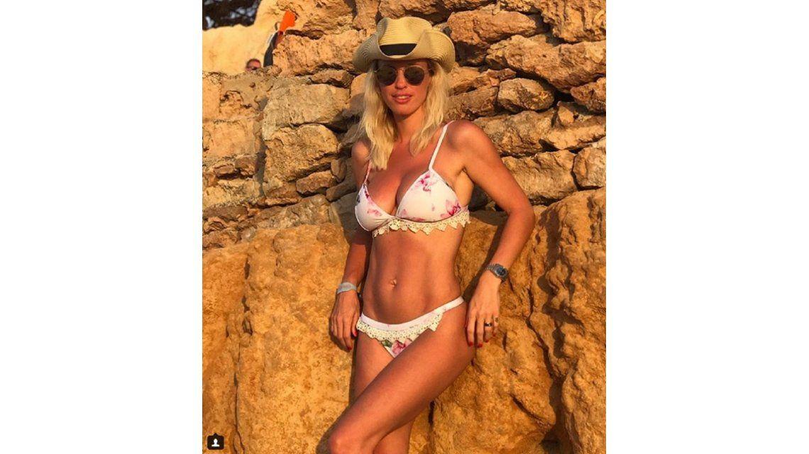 Rocío Guirao Díaz posa en Ibiza