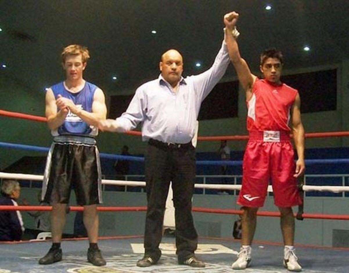 Félix Ovejero en el ambiente del boxeo de Comodoro Rivadavia