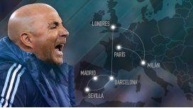 Jorge Sampaoli encabeza su segunda ronda de encuentros con jugadores