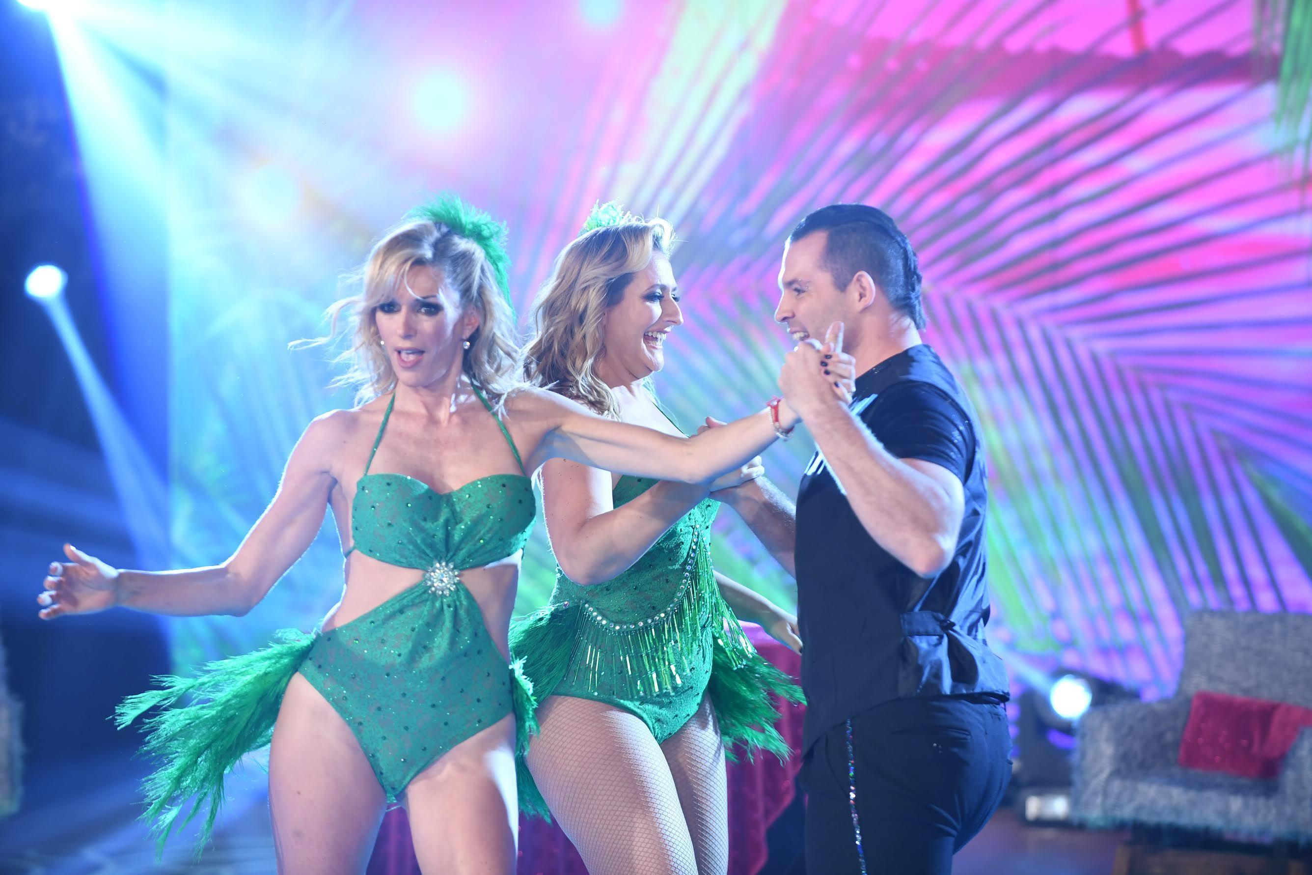 Yanina Latorre y Carmela Bárbaro seguramente deberán repetir el baile