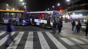 Dos colectivos chocaron en Barracas: 20 heridos