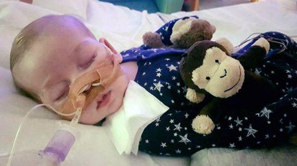 Charlie cumplió ocho meses pero su estado de salud era frágil