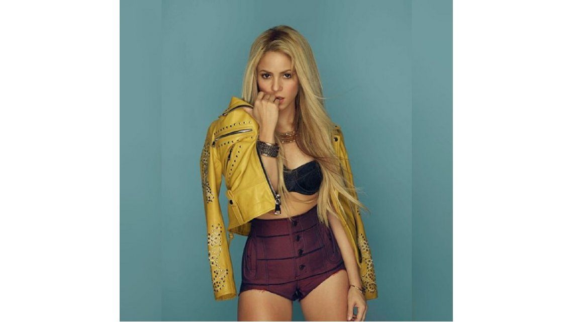 Así lucía Shakira para una producción en México