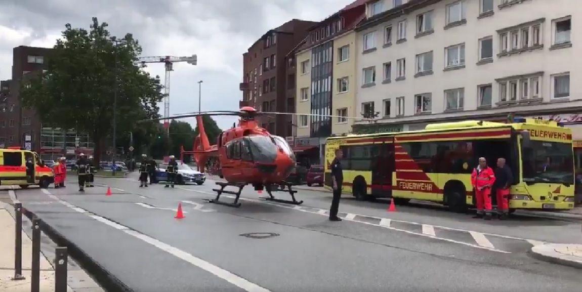 Pánico en Hamburgo por un atacante con un cuchillo en un supermercado
