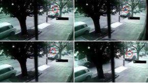 Así fue la secuencia en la que el Camineron atropella a la mujer en Villa Real