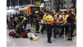 Accidente en la estación Francia de Barcelona