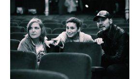 Tinelli, Bertuccelli y Fabiana Tiscornia. Foto: Instagram reicine.