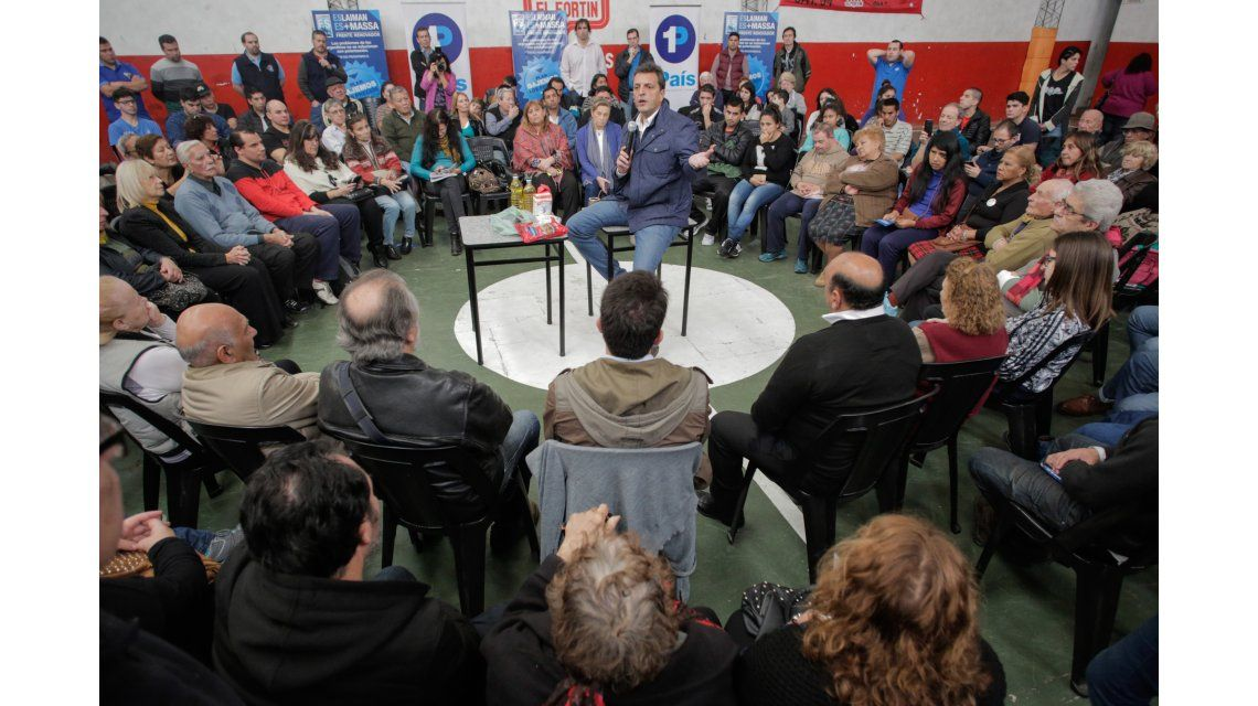 Massa: Somos una oposición seria que va a ponerle freno la economía de Macri