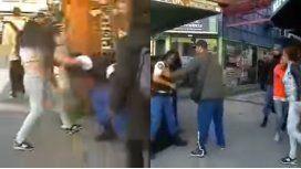 VIDEO: Una mujer golpeó a una policía cuando quiso detenerla y se viralizó