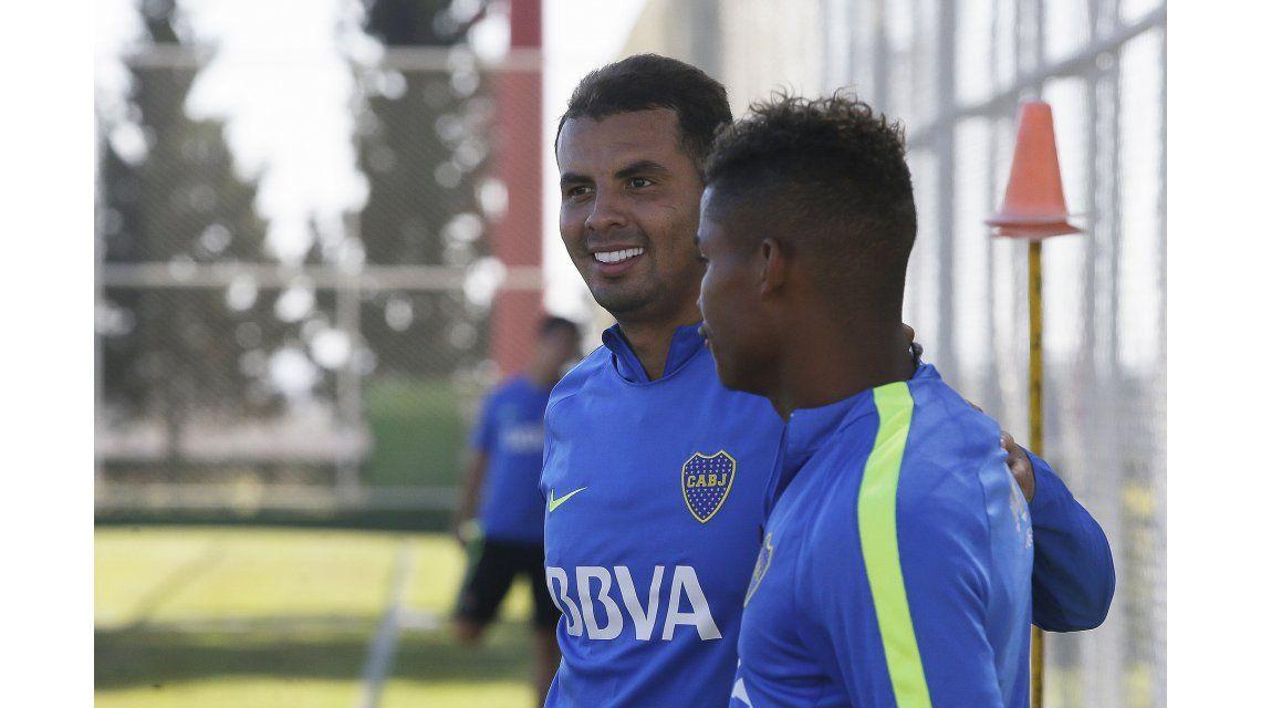 El volante colombiano será el encargado de crear juego en Boca (foto: Prensa CABJ)