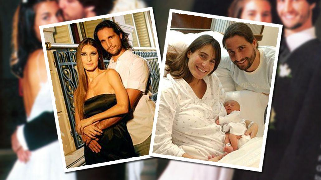 Romina Yan y Darío Giordano se casaron en 1998