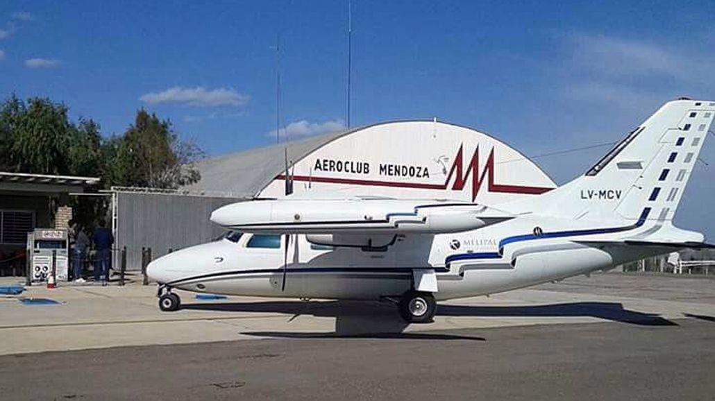 La avioneta desaparecida estuvo un día antes en el aeroclub de Mendoza