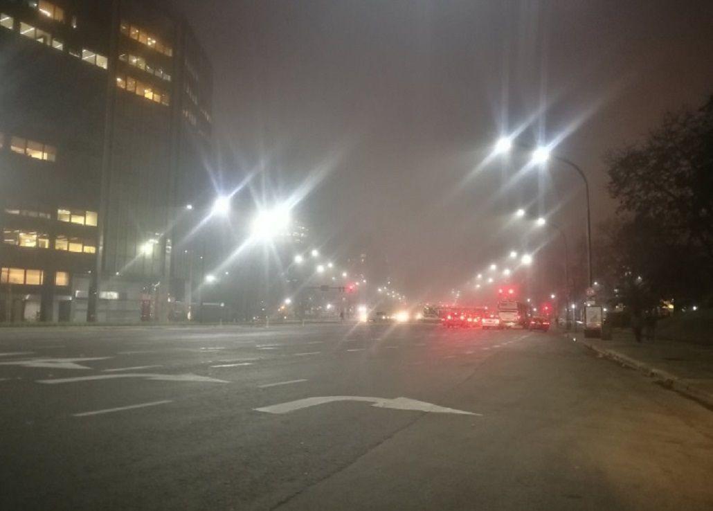 Niebla en Buenos Aires - Crédito:@rominawinner