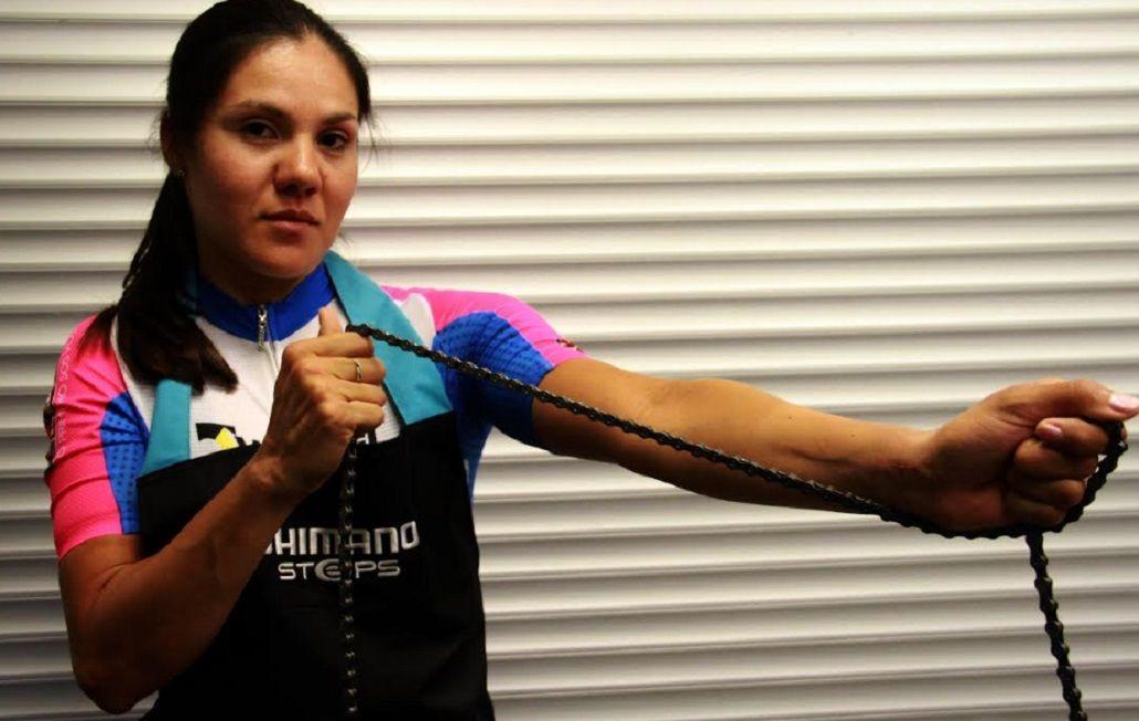 Mariela fue el primer atleta en competir en adaptado y convencional en la historia argentina. (foto: Prensa Ladies Power)