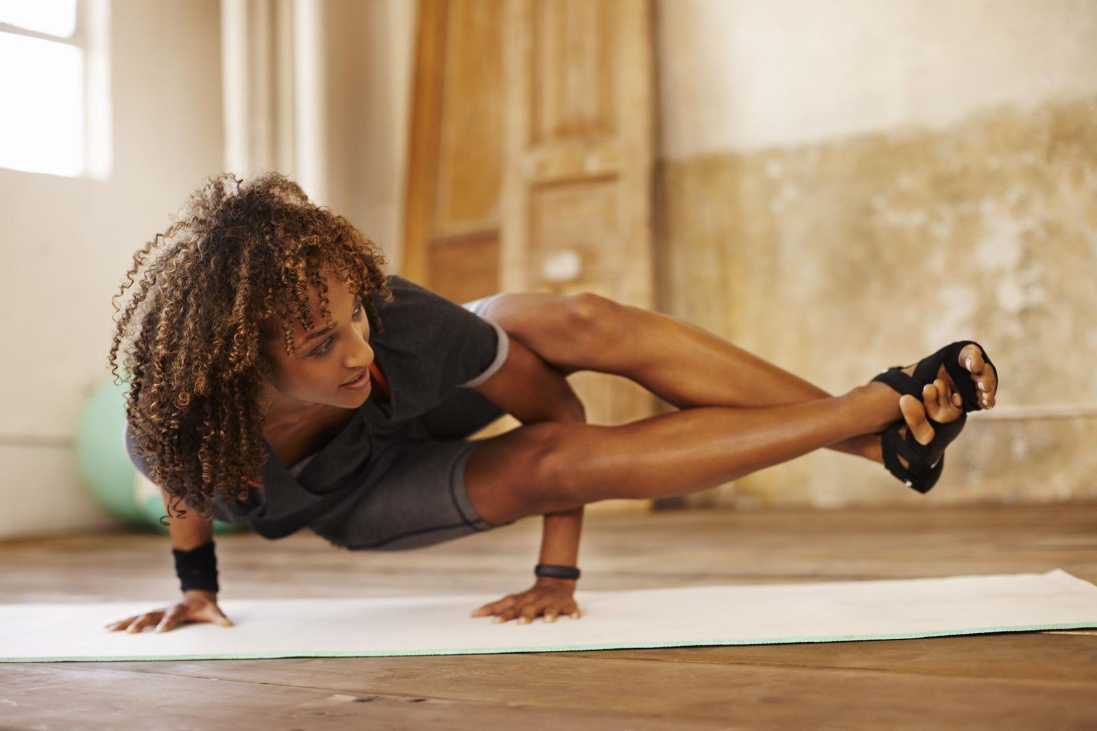 Una app que te permite hacer yoga gratis