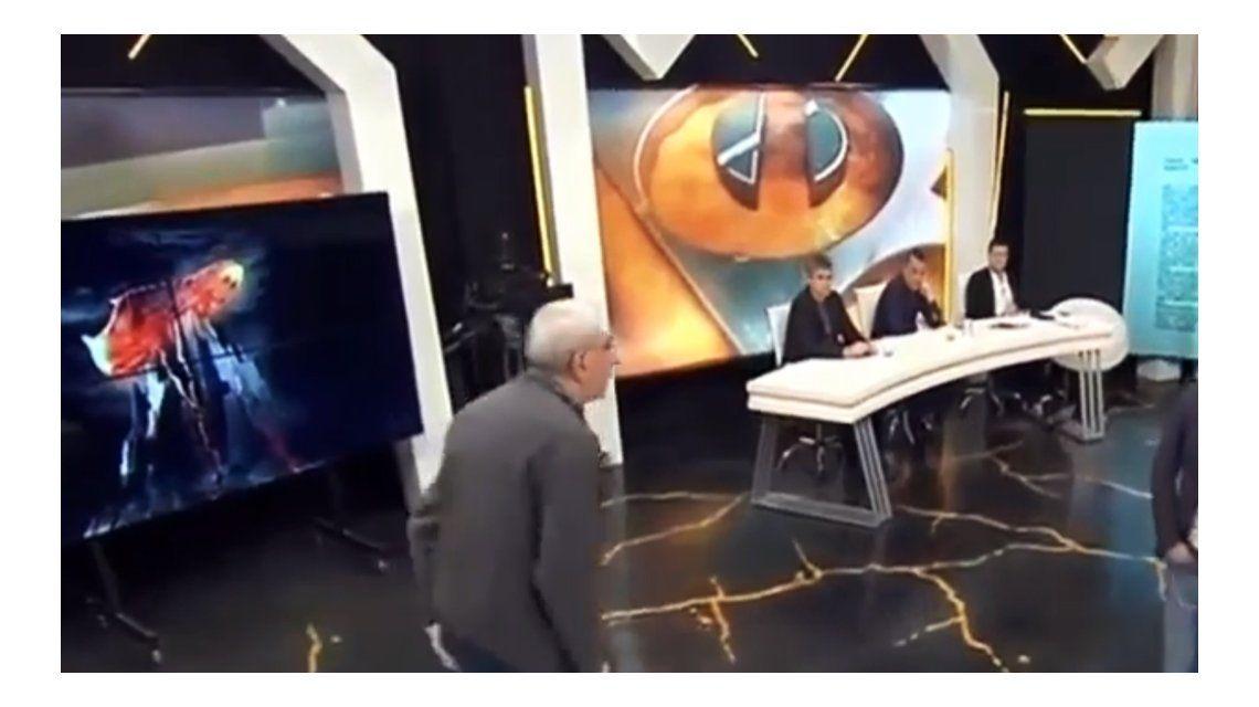 Azzaro contó qué pasó con Canaletti en el corte