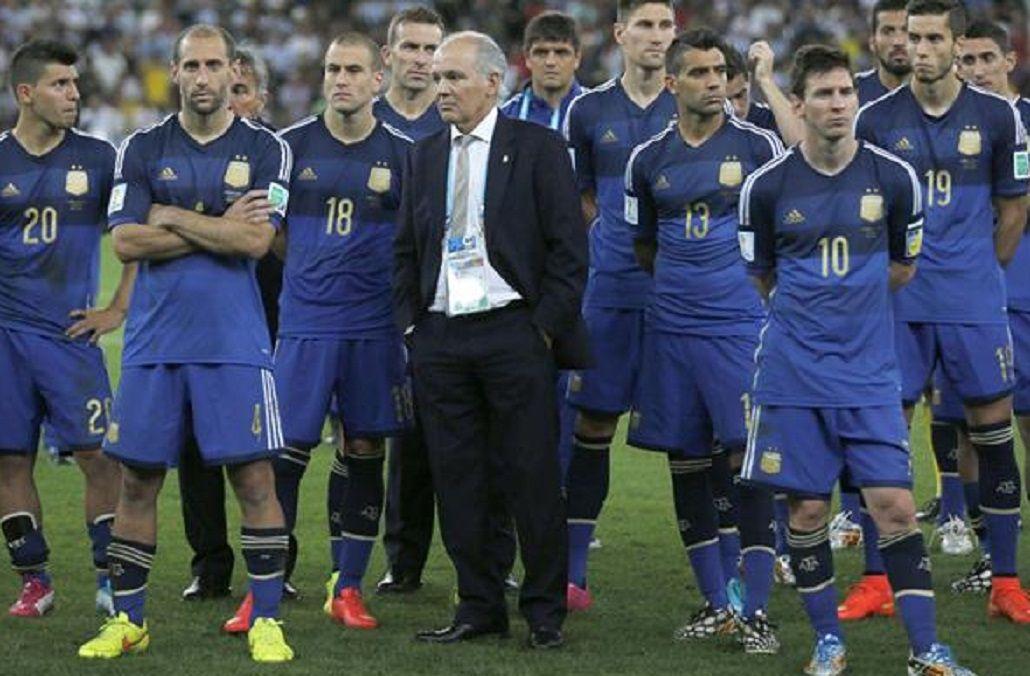 Augusto lució la camiseta 13 en el Mundial de Brasil