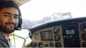 La avioneta era tripulada por el piloto Matías Ronzano